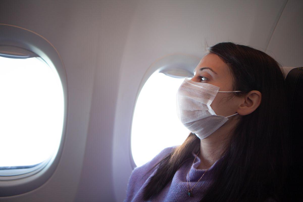 munnbind til flyreisen